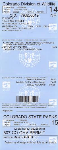 Buying a elk license colorado big game elk hunting for Fishing license colorado